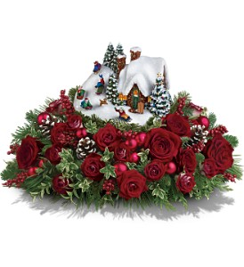 Thomas Kinkade's Sleigh Ride Bouquet by Teleflora in Kailua Kona HI, Kona Flower Shoppe