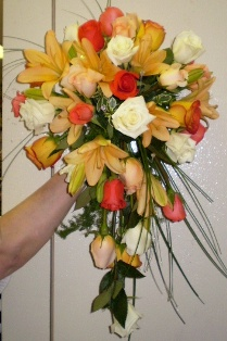 Bridal Bouquet in Canonsburg PA, Malone's Flower Shop