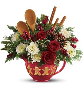 Teleflora's Mixing Bowl Bouquet in Oklahoma City OK, Array of Flowers & Gifts