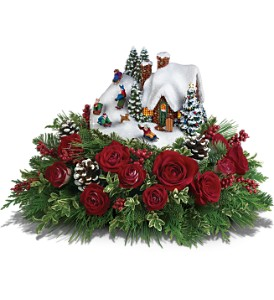 Thomas Kinkade's Sleigh Ride Bouquet by Teleflora in Silver Spring MD, Colesville Floral Design