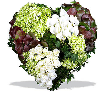 Healing Heart in Norwalk CT, Bruce's Flowers & Greenhouses