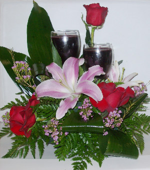 CANDLE ARRANGEMENT in Bloomfield NM, Bloomfield Florist