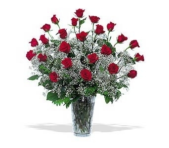 Classical 2 Dozen Roses in Glendale AZ, Blooming Bouquets