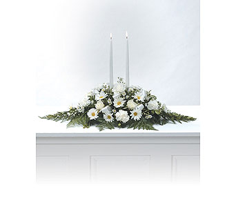 Candle Arrangement in Arlington TX, H.E. Cannon Floral & Greenhouses, Inc.