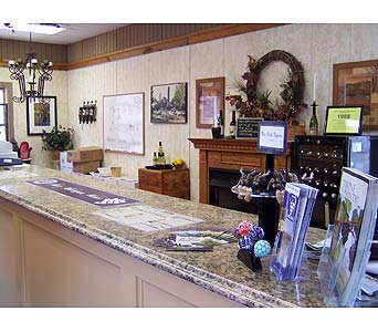 Wine Tasting Room in Marshall MI, Rose Florist & Wine Room