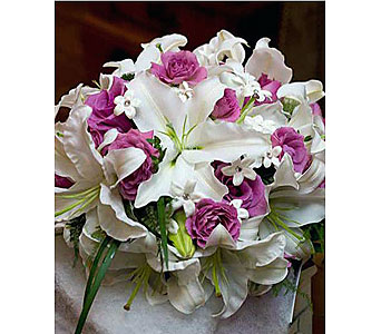 Wedding Bouquet in Kennett Square PA, Barber's Florist Of Kennett Square