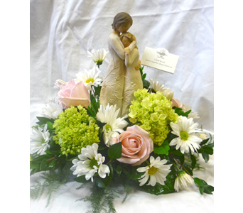 Willow Tree Garden - feminine mix FLOWERS ONLY in Nashville TN, The Bellevue Florist