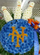Metz Emblem With Bowling Pins in West Nyack NY, West Nyack Florist