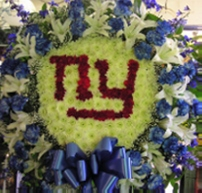 Giants Emblem in West Nyack NY, West Nyack Florist