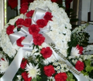 Bleeding Heart for the Casket in West Nyack NY, West Nyack Florist