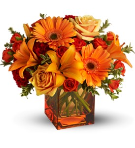 Teleflora's Sunrise Sunset - Deluxe in Rochester NY, Fabulous Flowers and Gifts