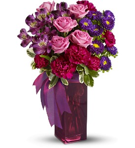 Bunches of Blooms by Teleflora in Winston Salem NC, Sherwood Flower Shop, Inc.