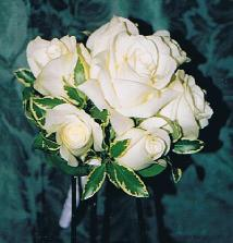 White Bridesmaid''s Bouquet in Ottawa ON, The Fresh Flower Company