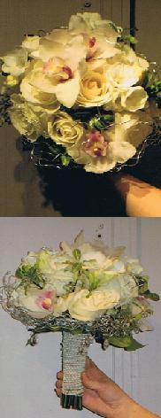 White Orchid Bridal Bouquet in Ottawa ON, The Fresh Flower Company