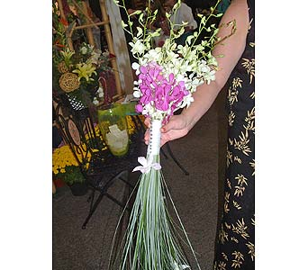 Orchid Beach wedding in Worcester MA, Herbert Berg Florist, Inc.