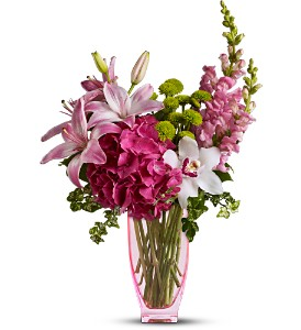 Teleflora's Pink n' Playful in Hendersonville TN, Brown's Florist