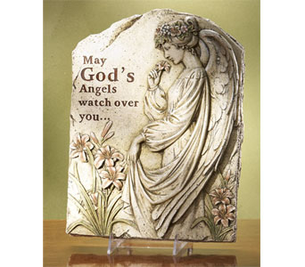 Large Angel Plaque in Royal Oak MI, Affordable Flowers
