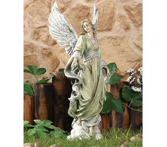 Large Angel Figure in Royal Oak MI, Affordable Flowers