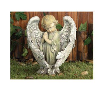 Baby Angel with Wings in Royal Oak MI, Affordable Flowers