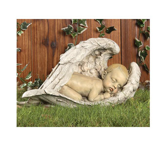 Sleeping Baby in Wings in Royal Oak MI, Affordable Flowers