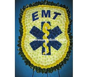 EMT BADGE in Jersey City NJ, Entenmann's Florist