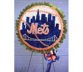 Mets Logo in Brick Town NJ, Flowers R Blooming of Brick