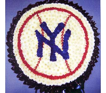 Yankee Baseball in Brick Town NJ, Flowers R Blooming of Brick