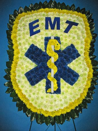 E. M. T.  Logo in Brick Town NJ, Flowers R Blooming of Brick