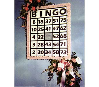Bingo Card in Brick Town NJ, Flowers R Blooming of Brick