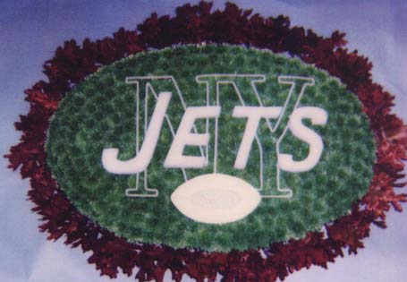 Jet's Football in Brick Town NJ, Flowers R Blooming of Brick