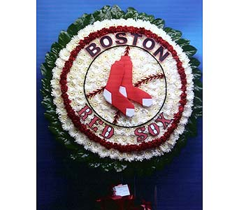 Red Sox's Logo in Brick Town NJ, Flowers R Blooming of Brick