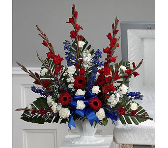 Red, White and Blue Traditional (Metro-Detroit Onl in Southfield MI, Thrifty Florist
