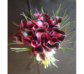 Burgundy Bouquet in Atlanta GA, Buckhead Blooms