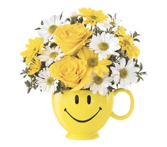 Be Happy Bouquet in McKees Rocks PA, Muzik's Floral & Gifts