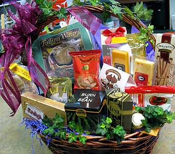 Gourmet Gift Basket in Tampa FL, Buds, Blooms & Beyond