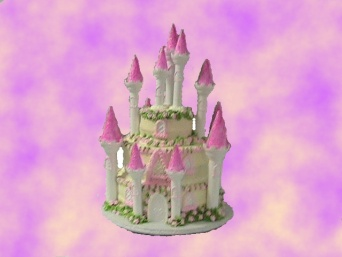 Castle Cake in Gautier MS, Flower Patch Florist & Gifts