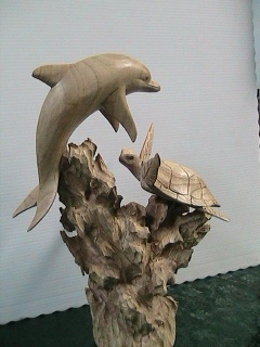 Handcarved Sealife in Gautier MS, Flower Patch Florist & Gifts