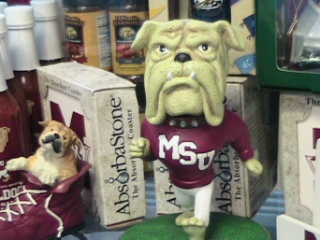 MSU Bulldogs in Gautier MS, Flower Patch Florist & Gifts