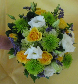 Summer Breeze Clutch Bouquet in Waukegan IL, Larsen Florist