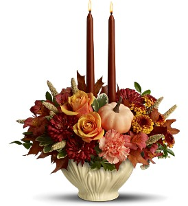 Lenox Gift of Autumn by Teleflora in Norfolk VA, The Sunflower Florist