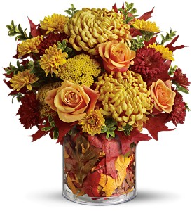 Teleflora's Golden Leaves in Tyler TX, Country Florist & Gifts