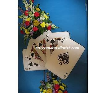 Straight Flush (Spades) in Jersey City NJ, Entenmann's Florist