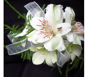Sugar & Spice Wrist Corsage in Detroit and St. Clair Shores MI, Conner Park Florist