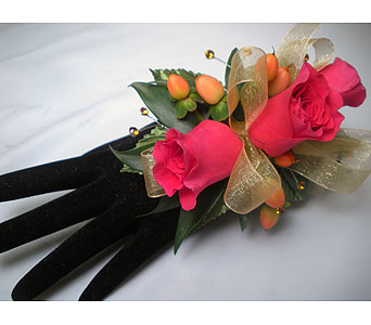 Dancing Butterfly Wrist Corsage in Detroit and St. Clair Shores MI, Conner Park Florist