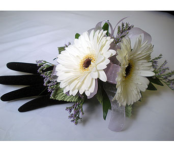 Cool Simplicity Wrist Corsage in Detroit and St. Clair Shores MI, Conner Park Florist