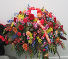 Casket Spray 1 in Belford NJ, Flower Power Florist & Gifts