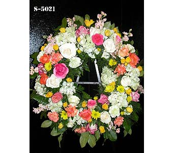 Beloved Wreath in Norwalk CT, Bruce's Flowers & Greenhouses