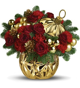 Teleflora's Have a Ball Bouquet - Red in Mobile AL, Cleveland the Florist