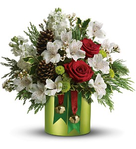Teleflora's Jolly Jingle in Olean NY, Uptown Florist