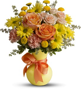 Teleflora's Heart Warmer in Spring TX, A Yellow Rose Floral Boutique